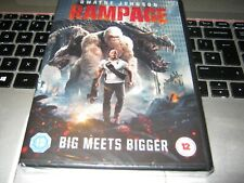 Rampage [DVD] [2018]  DVD ~ Dwayne Johnson  New sealed