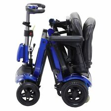 NEW ZooMe FLEX Ultra Compact Folding Travel 4 Wheel Mobility ScooterDriveMedical