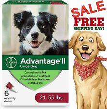 Bayer Advantage Ii Large Dog Flea & Tick Treatment Control 6 Monthly Doses