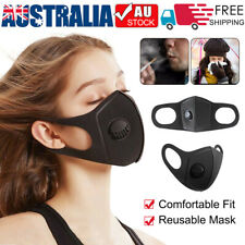 Adult Fashion Washable&Reusable Mask Outdoor Protection Breathing Valve Masks