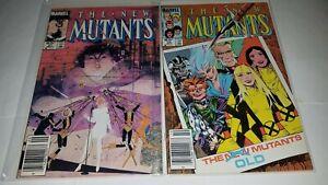 Marvel - New Mutants - Lot of 20 Comics - Lot #203 (1stMadripoor, 1st Warlock)