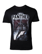 Camiseta Marvel Black Panther Band Tee S