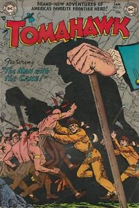DC Lot (2) comic Books, Tomahawk  #21 and #34 VG