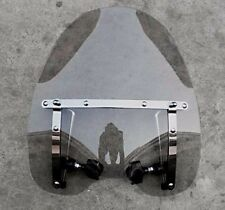 Smoke Motorcycle Windshield for Honda Magna Shadow Spirit Sabre 600 750 1100