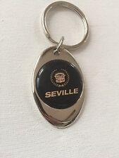 Cadillac Seville Keychain Chrome Metal Key Chain