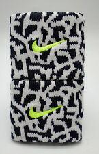 Nike Premier Wristbands Black/White/Volt Singlewide Adult Unisex