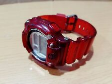 Vintage G-Shock Titanium DW8600K Jelly Red Dolphin&Whale Moon&Tide Japan Limited