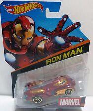 Hot Wheels MARVEL Iron Man Diecast 1:64 Vehicle