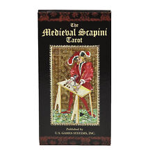 The Medieval Scapini Tarot Deck/Cards - Divination/Spellcraft/Meditation/Magick