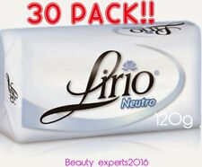 30 PACK!!  Lirio Neutral Bar Soap Daily Use120g/Jabon Neutro de Tocador de 120g
