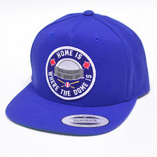 Home Is Where The Dome Is Snapback Hat - toronto blue jays skydome sky dome