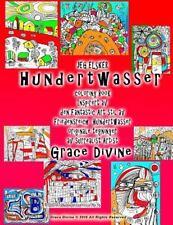 JEG ELSKER Hundertwasser Coloring Book Inspirert Av Den Fantastic Art Stil Av...
