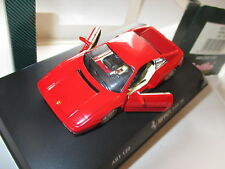 FERRARI 348 TB 348tb Coupe IN Rosso Rosso Rouge Red, Detail Cars in 1:43 Boxed!