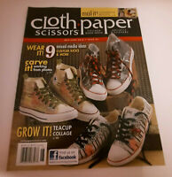 Cloth Paper Scissors Magazine May June 2012 Issue 42 Mixed Media Preowned