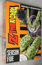 Dragon Ball Z: Season 5 Five UNCUT Dragonball DVD Box Set NEW SEALED