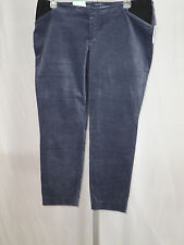 Pants Women's OLD NAVY Maternity Gray Ankle Length Pixie Size 8 NWT