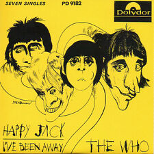 ★☆★ CD Single The WHO Happy Jack - I've been away - 2-track CARD SLEEVE ★☆★