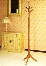 New Frenchi Furniture Wood Coat Hat Rack Stand in Oak Finish Free Shipping