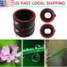 For Canon EOS EF Lens Metal Auto Focusing Macro Extension Adapter Tube Ring Set