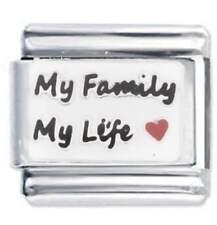My Family - DAISY CHARM Fits Nomination Classic  Italian Bracelet Link