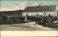 Killingly CT Town Meeting c1910 Postcard