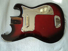 VINTAGE ELECTRIC GUITAR BODY and PARTS