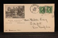 New Hampshire: Hinsdale 1915 Hotel Ashuelot Advertising Cover