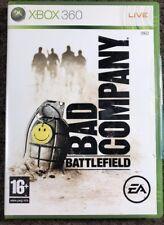 BAD COMPANY BATTLEFIELD XBOX 360 Game Complete EA 2008 Microsoft