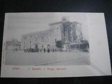 MENFI Agrigento  Il Castello e Piazza Garibaldi  non viaggiata