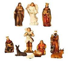 Mehrfarbige Weihnachtsdekorations Figuren