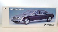 1/18 AUTOart MAYBACH 62 LWB Silver/Black diecast car model MIB RARE