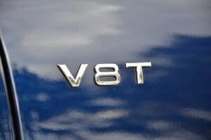 Original Audi v8t Lettrage LOGO a4 a5 a6 a7 a8 q5 q7 q8 v8t Emblem 4H0853601