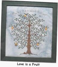"""Love Is A Fruit"" Cross Stitch Chart"