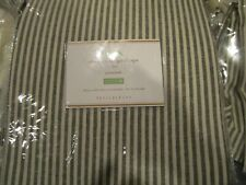 Pottery Barn Wheaton stripe grommet drapes 50 X 84 New