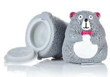 NEW Cute Bear Lip Balm Pot Coconut Flavour Sealed Moisturising Novelty party bag
