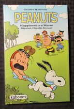2011 PEANUTS Happiness is a Warm Blanket by Charles Schulz HC/DJ Sealed Kaboom!
