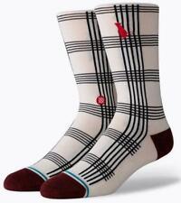Stance 1 Pair Sock Rat Plaid - size L