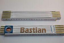 Zollstock mit Namen     BASTIAN   Lasergravur 2 Meter Handwerkerqualität