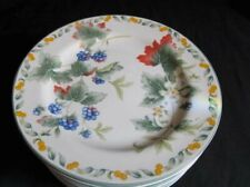 9 Salad Plates Avon China Country Fruit Collection By Julie Pople Berries
