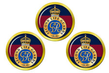 2nd Life Guards, British Army Golf Ball Markers