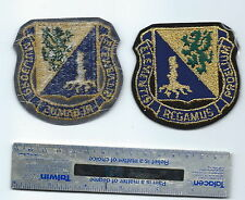 METALLIC THREAD US ARMY PATCH CHEMICAL CORP