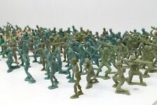 Lot of 164 Plastic Toy Soldiers