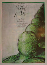 Pink Floyd The Wall original rolled Hungarian movie poster