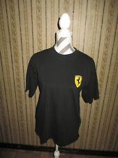 EUC men's black FERRARI logo t-shirt / size MED