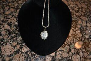 Treasure coin 2 real silver 14K gold