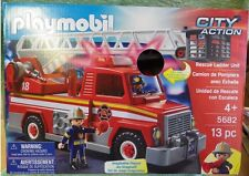 PLAYMOBIL 5682 CITY ACTION le véhicule d'intervention des pompiers (version usa)