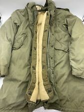 Vintage Men's OG-107 1966 Parka w/Cold Weather Insert Small Cotton Uniform