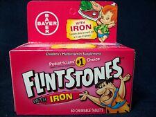Flintstones Children's Multivitamin Supplement with Iron 180 Chewable Tablets