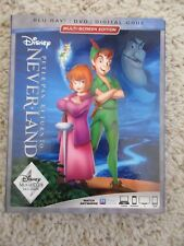 NEW  SEALED Peter Pan Return to Neverland BLU RAY DVD with Digital Code