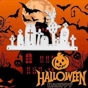 Halloween Tombstone Metal Cutting Dies NICE B2V9